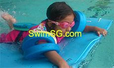 SwimSG.com - Swimming Lessons Water Phobic Kids