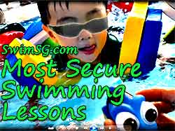 SwimSG.com - Swimming lessons beginner in Singapore kids toddlers baby