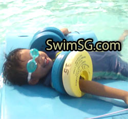 SwimSG.com - Swimming Lessons young beginner children in Singapore