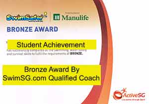 SwimSG.com - Singapore Swimming Lessons Achievement Bronze