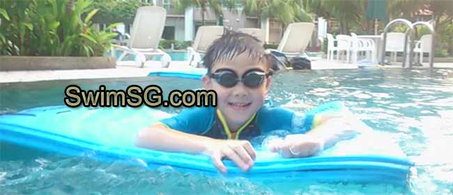 SwimSG.com - Swimming lessons at condo Pool for kids