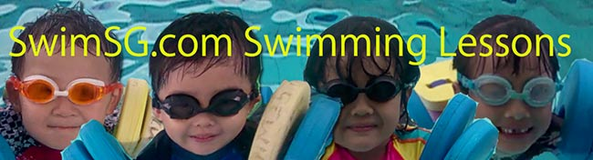 SwimSG.com - Swimming Lessons Singapore Beginners Children