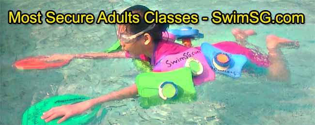 SwimSG.com - Swimming lessons adults Teenage Singapore