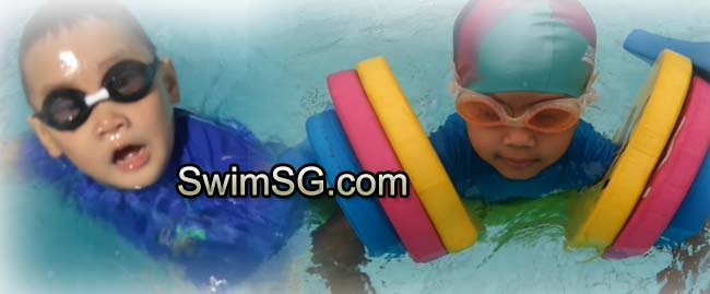 SwimSG.com - Swimming lessons for baby toddlers in Singapore learner
