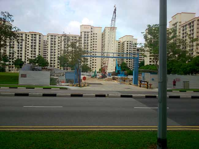 SwimSG - Community Centre Under Construction