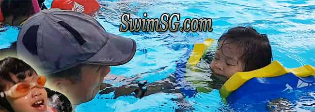 SwimSG.com - Swimming Lessons toddler babies coaches Singapore