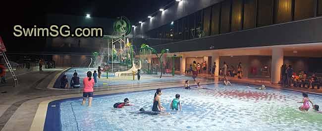 Tampines Hub Swimming Complex Lessons Singapore