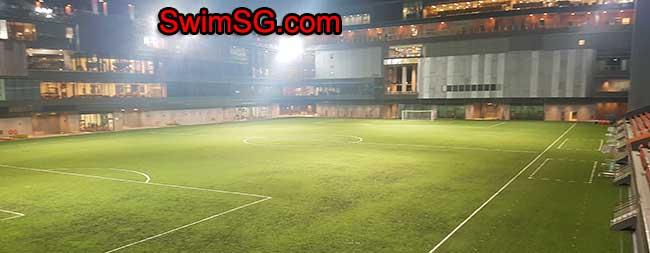 football field Singapore tampines hub