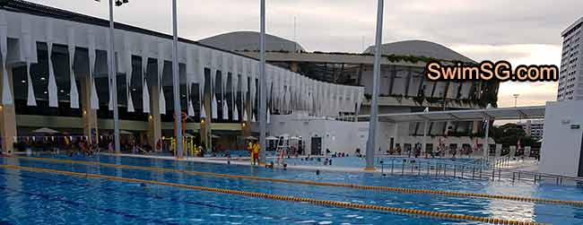 SwimSG.com - Bedok town hub learn to swim programme adult kids