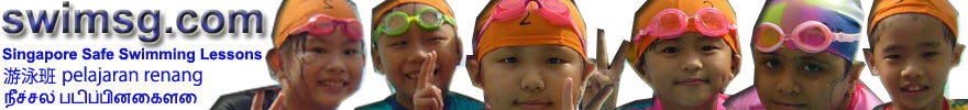 Swimming Lessons Singapore - Learn to swim with SwimSG